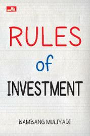 Rules of Investment by Bambang Muliyadi Cover