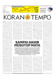 Koran TEMPO Cover 09 July 2020