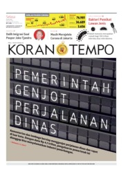Koran TEMPO Cover 14 July 2020