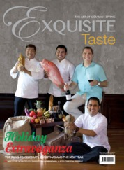 EXQUISITE TASTE Magazine Cover ED 04 November 2019