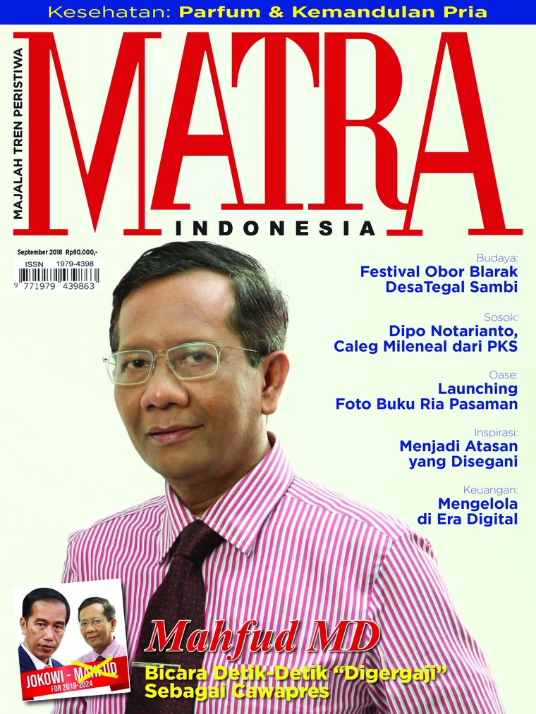 MATRA INDONESIA Digital Magazine September 2018