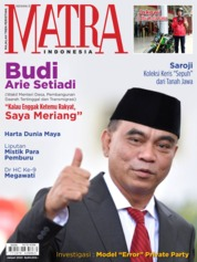 Cover Majalah MATRA INDONESIA Januari 2020