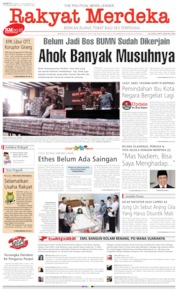 Cover Rakyat Merdeka 16 November 2019