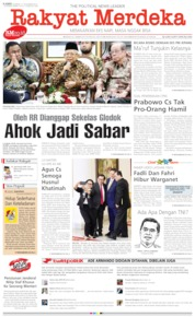 Cover Rakyat Merdeka 21 November 2019