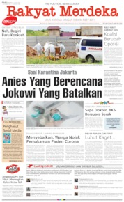 Rakyat Merdeka Cover 01 April 2020