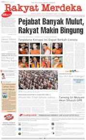 Rakyat Merdeka Cover 04 April 2020