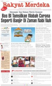 Cover Rakyat Merdeka 09 April 2020