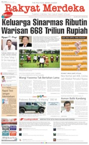 Rakyat Merdeka Cover 14 July 2020