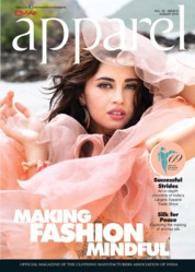 Apparel Magazine Cover August 2019
