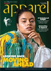 Apparel Magazine Cover