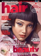 Hair & Beauty Magazine Cover