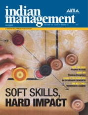 Indian management Magazine Cover July 2019