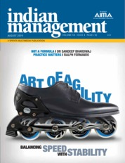 Indian management Magazine Cover August 2019