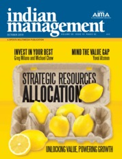 Indian management Magazine Cover October 2019