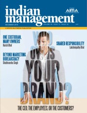 Indian management Magazine Cover December 2019