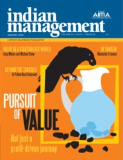 Cover Majalah indian management Januari 2020