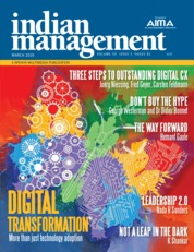 Indian management Magazine Cover March 2020