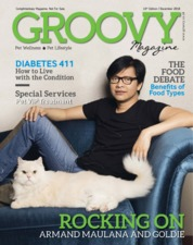 Cover Majalah GROOVY MAGAZINE (Pet Wellness & Pet Lifestyle)