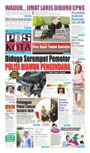 Pos Kota Cover 13 November 2019