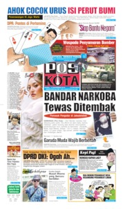 Pos Kota Cover 14 November 2019