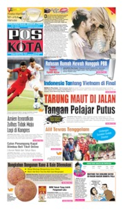 Pos Kota Cover 08 December 2019