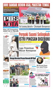 Pos Kota Cover 13 December 2019