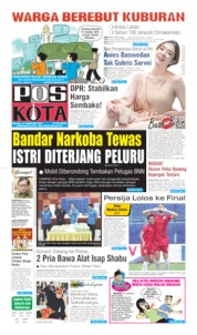 Pos Kota Cover 18 February 2020