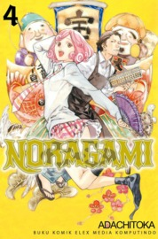 Noragami 04 by Adachitoka Cover