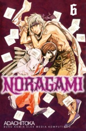 Noragami 06 by Adachitoka Cover