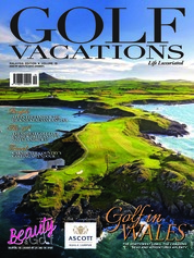 GOLF VACATIONS Magazine Cover ED 19 August 2018