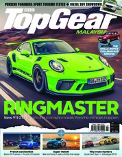 Top Gear Malaysia Magazine Cover July 2018