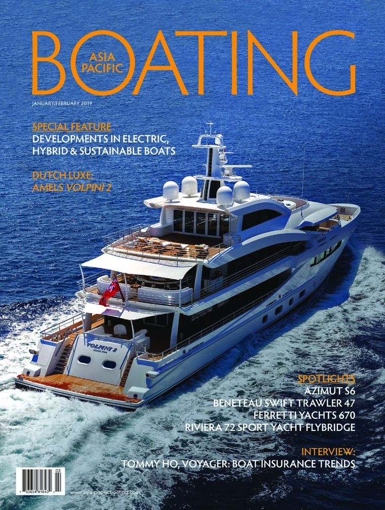 Majalah Digital ASIA PACIFIC BOATING Januari-Februari 2019