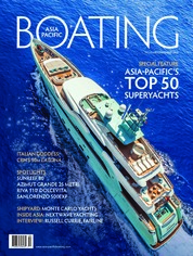 Cover Majalah ASIA PACIFIC BOATING November-Desember 2018
