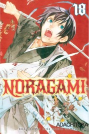 Noragami 18 by Adachitoka Cover