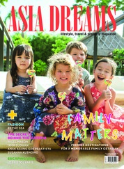 ASIA DREAMS Magazine Cover July-September 2018