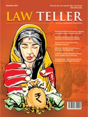 Lawteller Magazine Cover November 2019