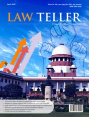 Cover Majalah Lawteller April 2020