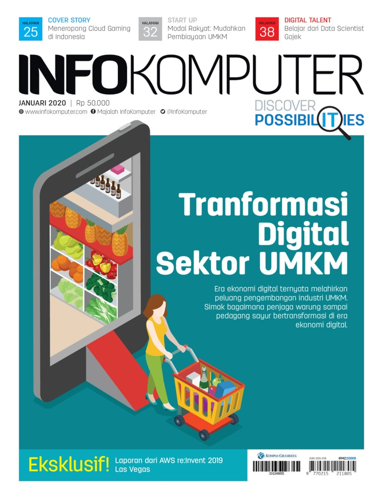 Info Komputer Digital Magazine ED 01 January 2020