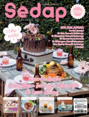Sedap Magazine Cover ED 12 December 2019