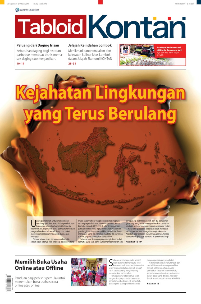 Kontan Digital Magazine ED 52 September 2019