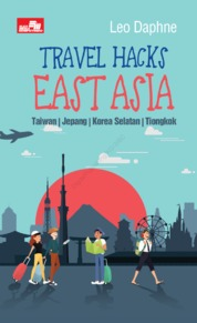 Travel Hacks East Asia by Peter Ryan Cover