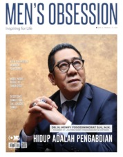 Cover Majalah Men's Obsession Desember 2019