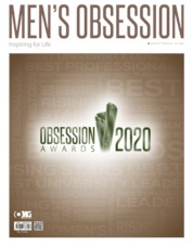 Men's Obsession Magazine Cover March 2020