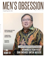 Cover Majalah Men's Obsession April 2020