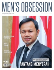 Cover Majalah Men's Obsession Mei 2020