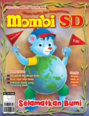 Cover Majalah MOMBI SD ED 181 April 2020