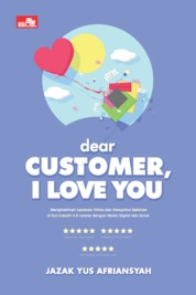 Cover Dear Customer, I Love You oleh Jazak Yus Afriansyah