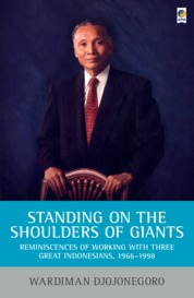 Standing on the Shoulders of Giants by Wardiman Djojonegoro Cover