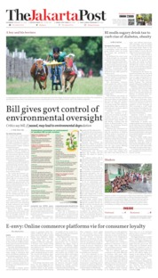 Cover The Jakarta Post 22 Februari 2020