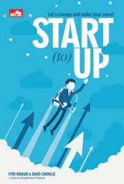 Cover START to UP Let's change and make your move! oleh David Cornelis & Fitri Kinasih